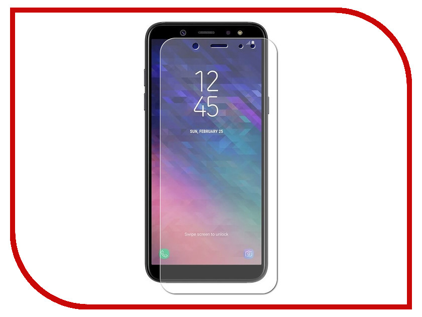 Аксессуар Защитное стекло Samsung A6 Plus 2018 A605G Zibelino TG 0.33mm 2.5D ZTG-SAM-A605G аксессуар защитное стекло samsung galaxy note 8 zibelino tg 4d 0 33mm white ztg 4d sam not8 wht
