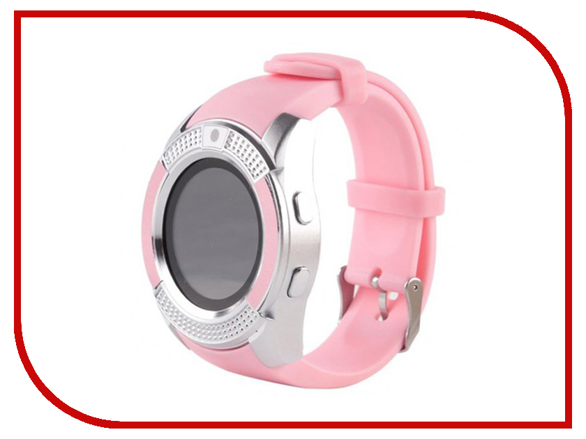 Умные часы ZDK V8 Silver-Pink