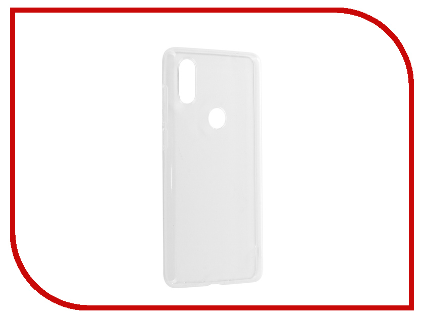 Аксессуар Чехол для Xiaomi Mi Mix 2S Zibelino Ultra Thin Case White ZUTC-XMI-MIX2S-WHT gumai ultra thin protective case for xiaomi 6 black
