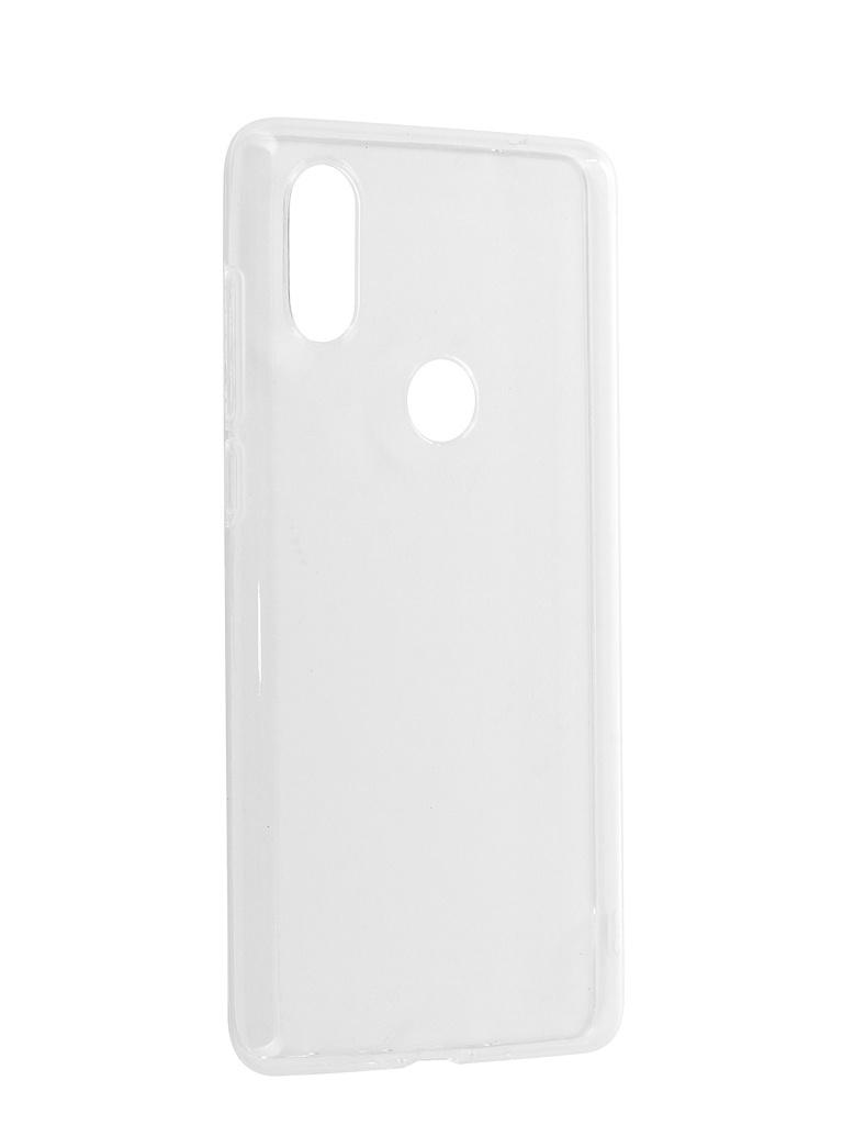 Аксессуар Чехол Zibelino для Xiaomi Mi Mix 2S Ultra Thin Case White ZUTC-XMI-MIX2S-WHT аксессуар чехол zibelino для motorola moto g6 ultra thin case white zutc motr mot g6 wht