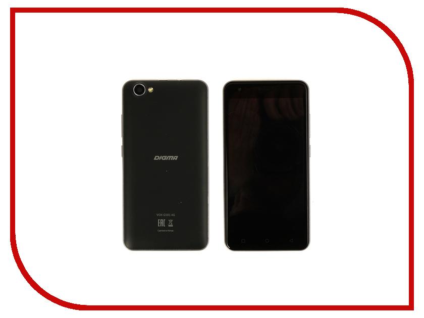 Сотовый телефон Digma VOX G501 4G Dark Blue digma vox s506 4g