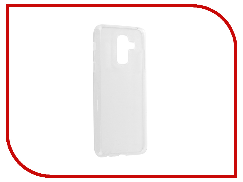 Аксессуар Чехол для Samsung A6 Plus 2018 A605G Zibelino Ultra Thin Case White ZUTC-SAM-A605G-WHT аксессуар чехол для samsung galaxy a5 2017 zibelino ultra thin case white zutc sam a5 2017 wht