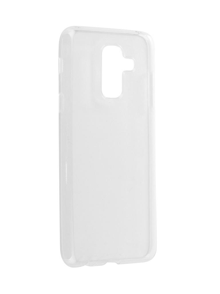 Аксессуар Чехол Zibelino для Samsung A6 Plus 2018 A605G Ultra Thin Case White ZUTC-SAM-A605G-WHT