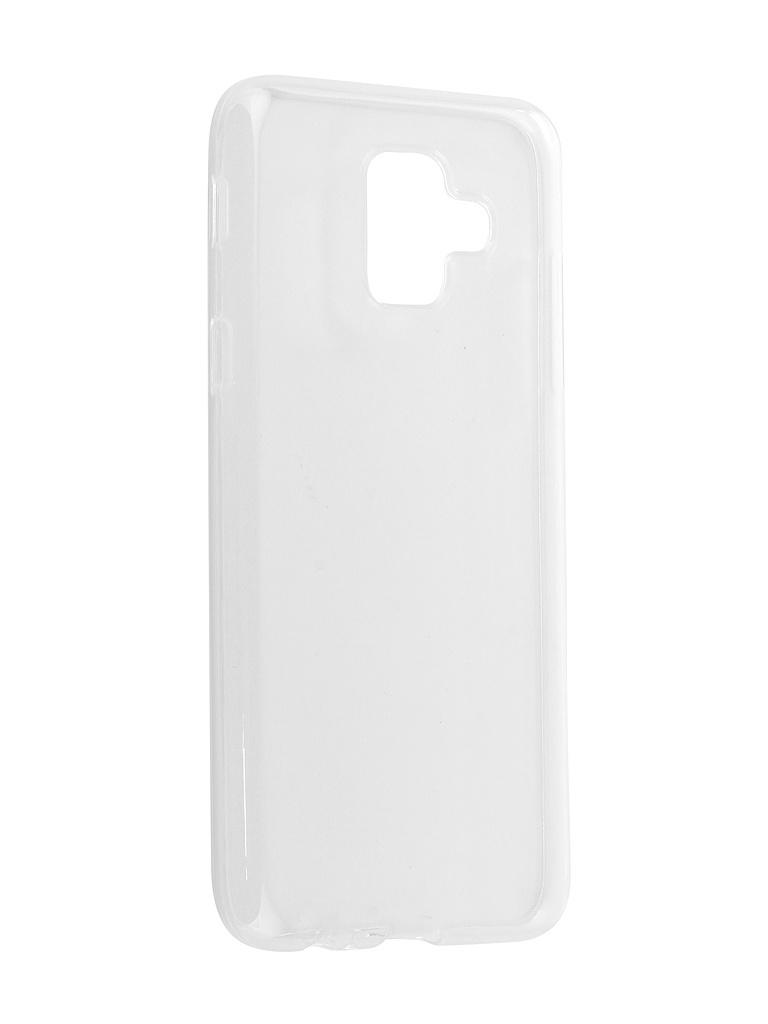 Аксессуар Чехол Zibelino для Samsung A6 2018 A600FN Ultra Thin Case White ZUTC-SAM-A600FN-WHT