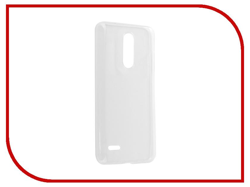 Аксессуар Чехол для LG K10 2018 Zibelino Ultra Thin Case White ZUTC-LG-K10-2018-WHT аксессуар чехол накладка для lg k10 k410 k10 lte k430ds gecko white s g lgk10 wh
