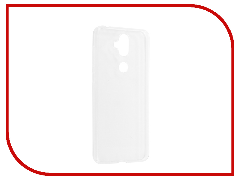 Аксессуар Чехол для ASUS Zenfone 5 Lite ZC600KL 6 Zibelino Ultra Thin Case White ZUTC-ASU-ZC600KL-WH ikki ultra thin protective 0 2mm pp back case for iphone 6 4 7 translucent white