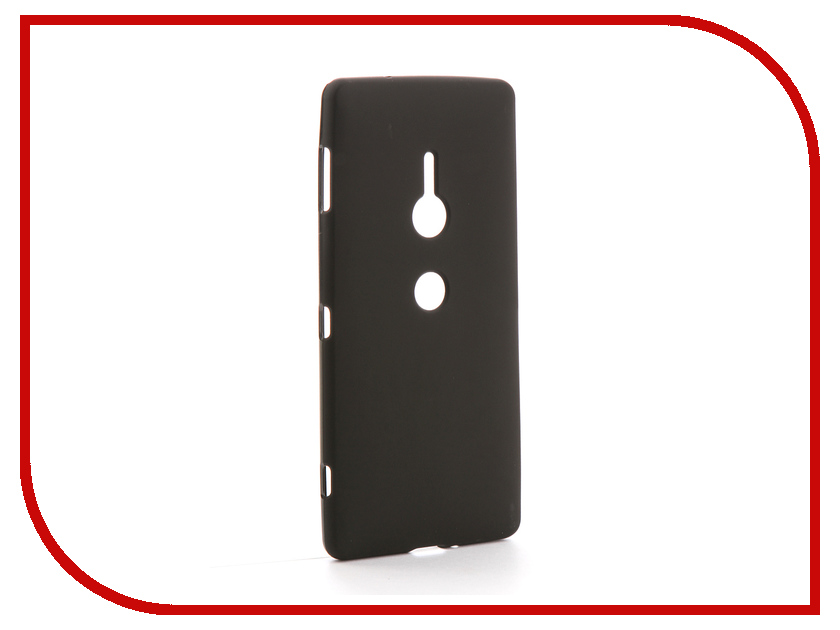 Аксессуар Чехол для Sony XZ2 Zibelino Soft Matte Black ZSM-SON-XZ2-BLK ploughman s son