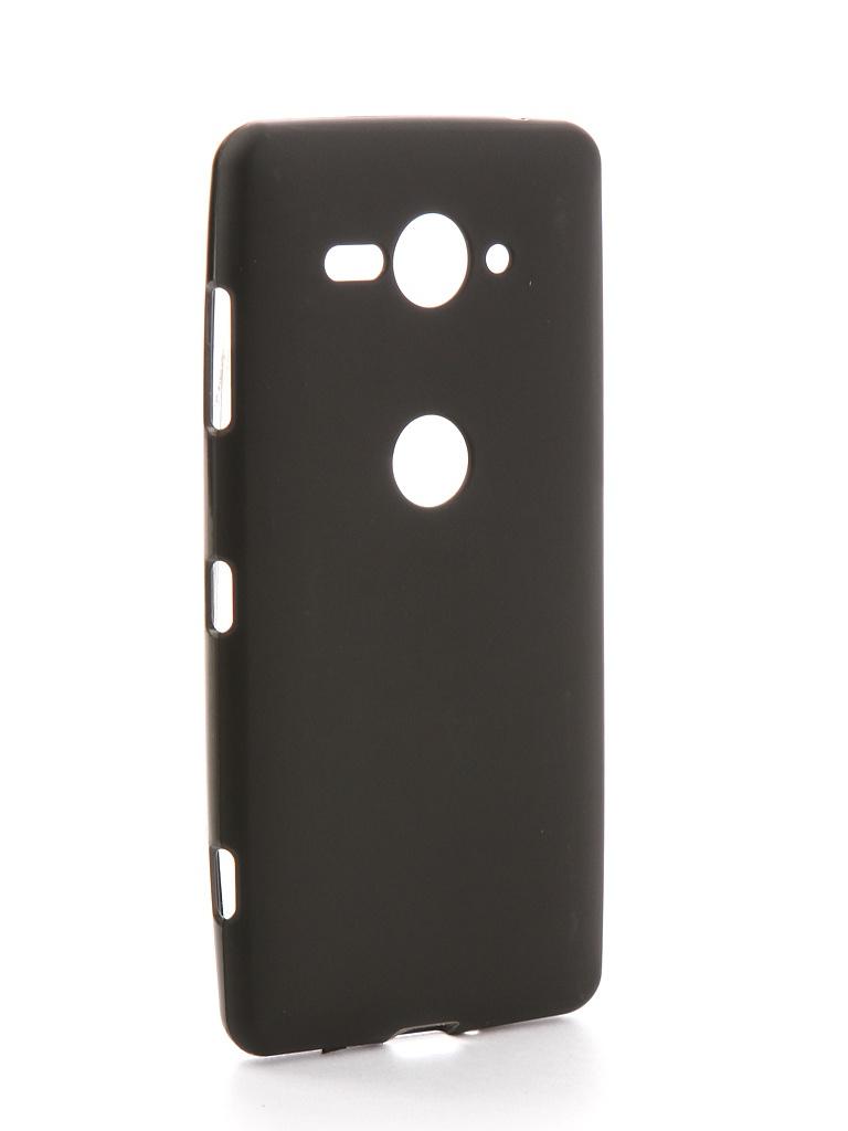 Аксессуар Чехол Zibelino для Sony XZ2 Compact Soft Matte Black ZSM-SON-XZ2-CMP-BLK
