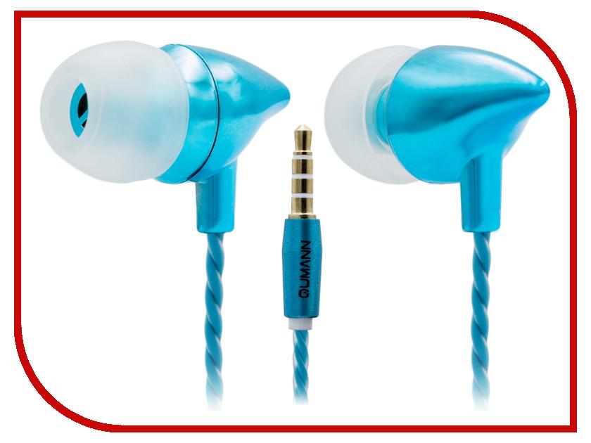 Qumann QSE-02 Butterfly Blue Metallic qumann qse 06 pin white
