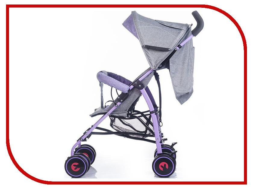 Коляска BabyHit Dandy Purple Grey Lien