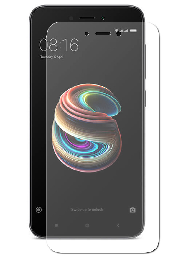 Аксессуар Защитное стекло Snoogy для Xiaomi Redmi 5 A 0.33mm Sn-TG-XIA-5A аксессуар чехол xiaomi redmi note 5a snoogy иск кожа black sn xia n5a blk lth