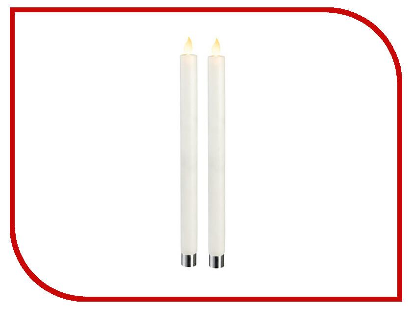 Светодиодная свеча Star Trading LED M-Twinkle 2шт White 064-70