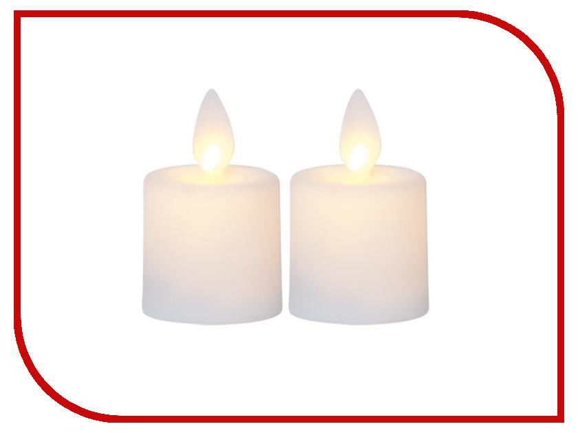 Светодиодная свеча Star Trading M-Twinkle 2шт White 063-97