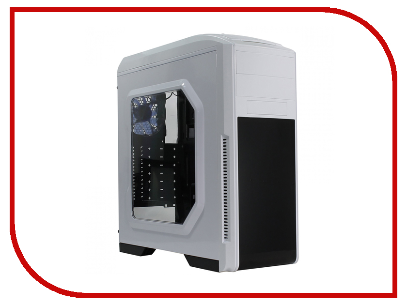 Фото - Корпус GameMax G529W White корпус gamemax g539w white