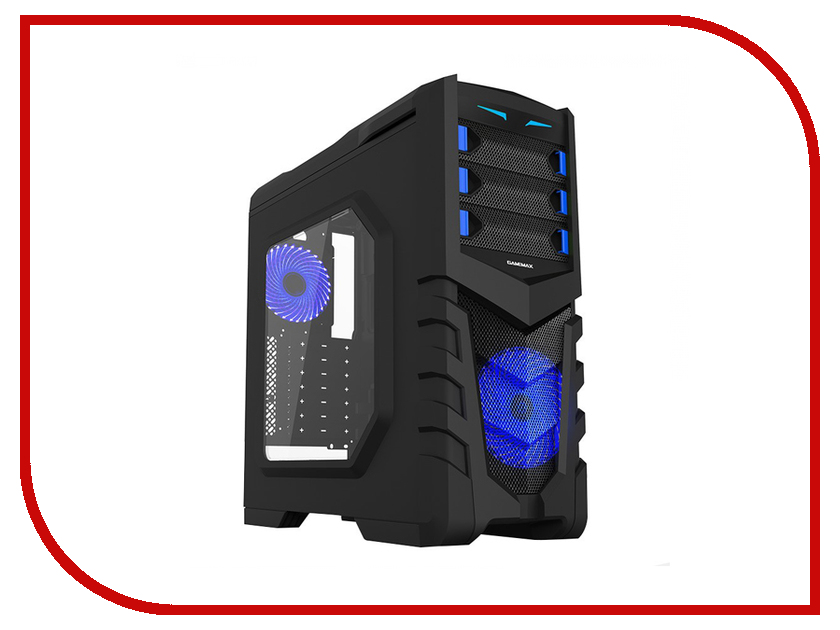 Фото - Корпус GameMax G530 Black корпус gamemax g539w white