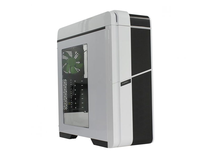 Корпус GameMax G536-W White корпус gamemax g535 cr black