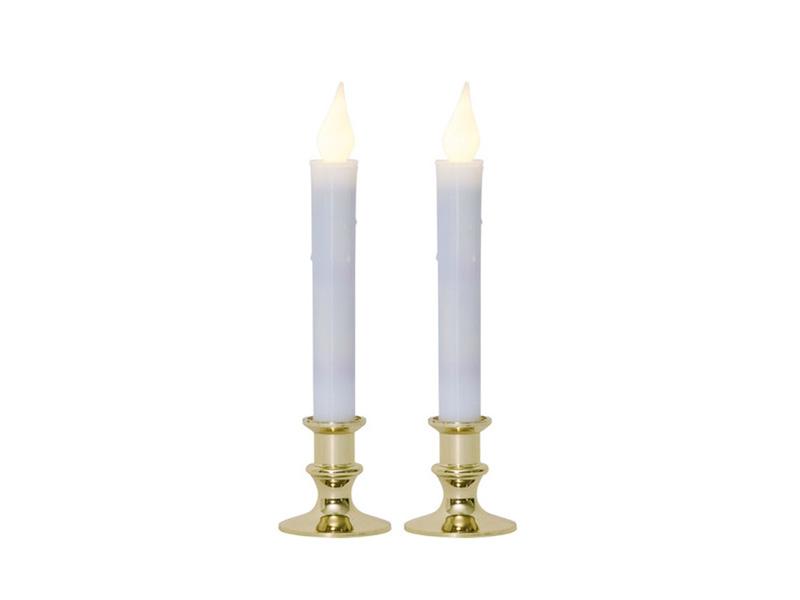 Светодиодная свеча Star Trading LED Press 2шт Gold 063-63