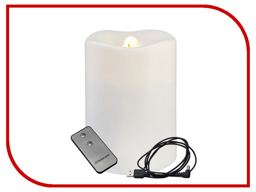 Светодиодная свеча Star Trading LED White 063-09