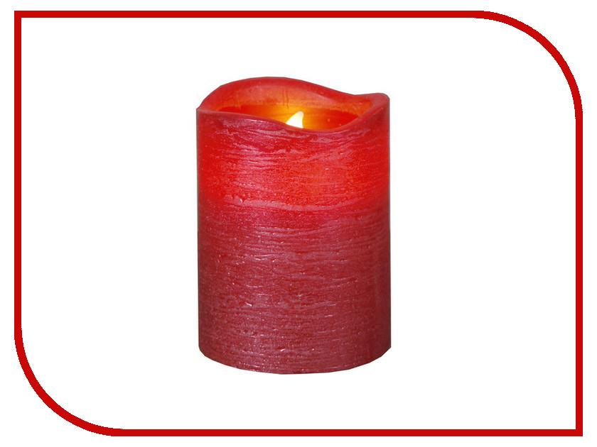 Светодиодная свеча Star Trading LED Press Shiny Red 063-20