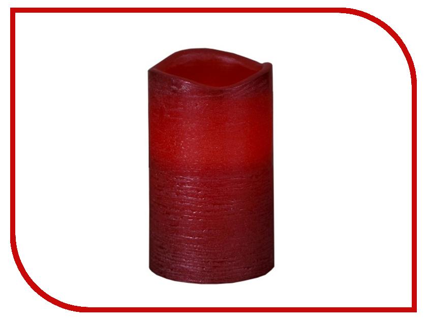 Светодиодная свеча Star Trading LED Press Shiny Red 063-21