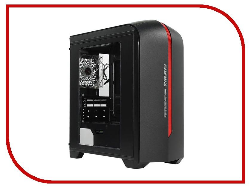 Корпус GameMax H601 Black цена и фото