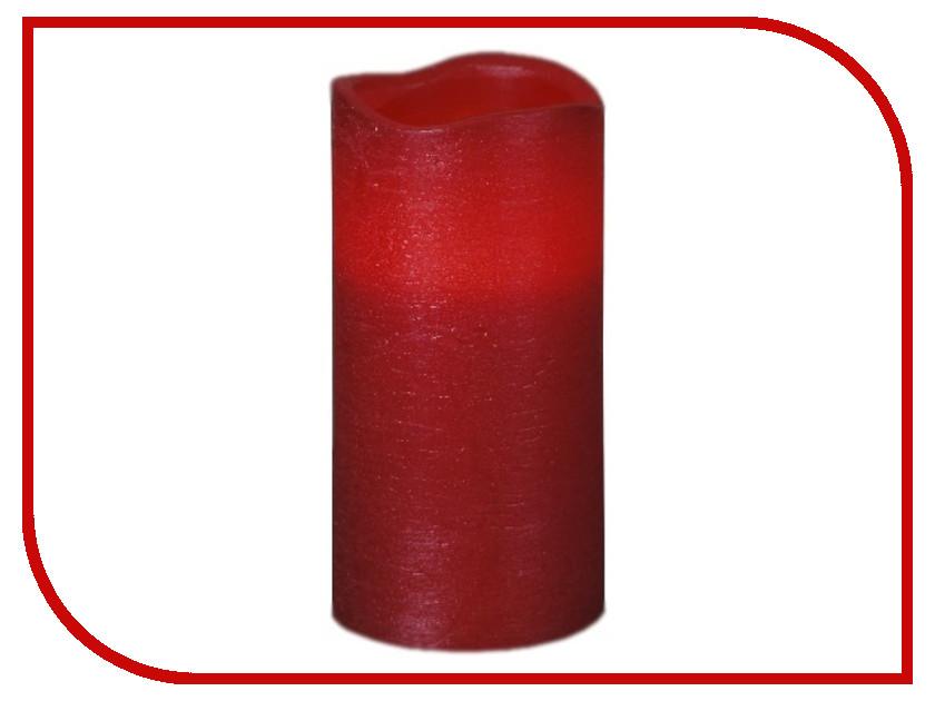 Светодиодная свеча Star Trading LED Press Shiny Red 063-22