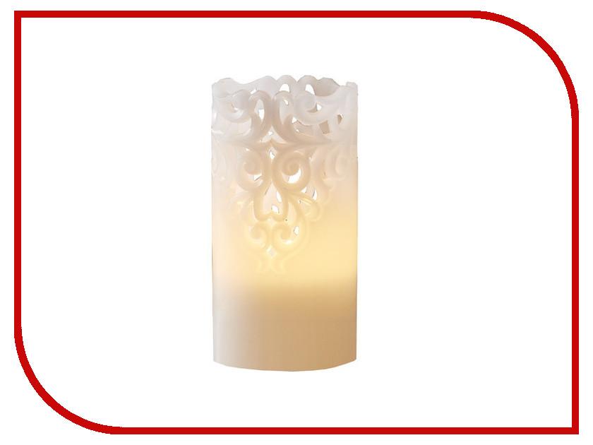 Светодиодная свеча Star Trading LED Clary White 062-24
