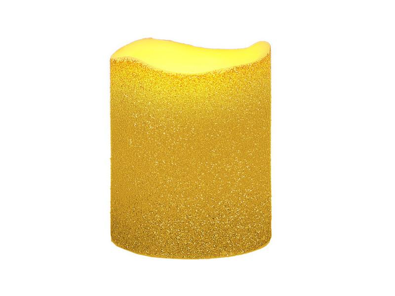 Светодиодная свеча Star Trading LED Wax Gold 066-64