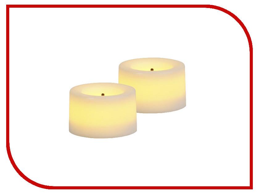 Светодиодная свеча Star Trading LED T-Light 2шт White 068-04