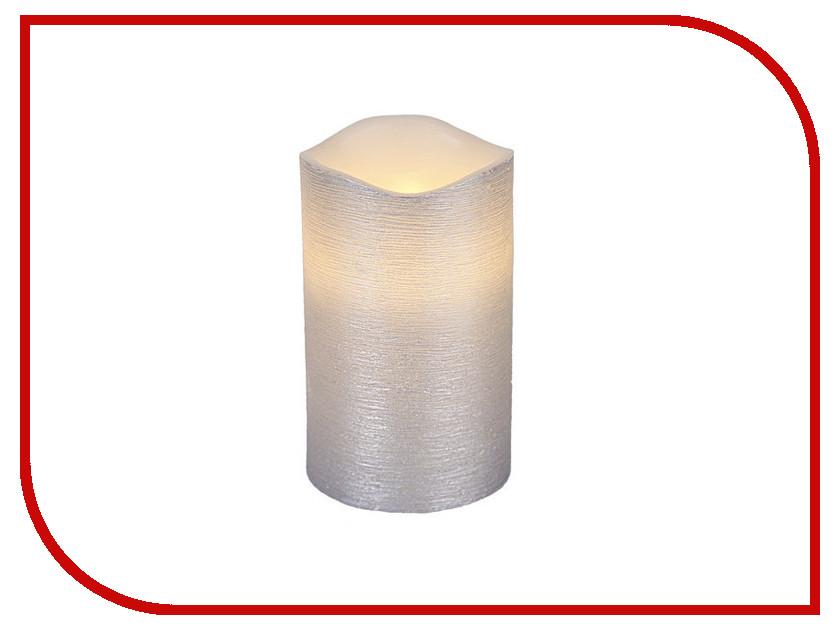 Светодиодная свеча Star Trading LED Linda Silver 068-55