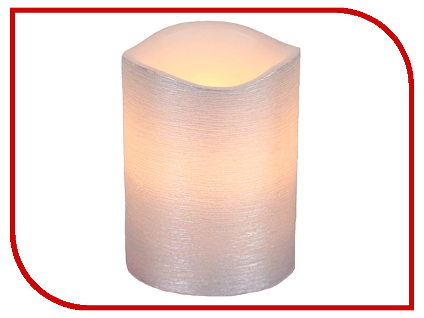 Светодиодная свеча Star Trading LED Linda Silver 068-54