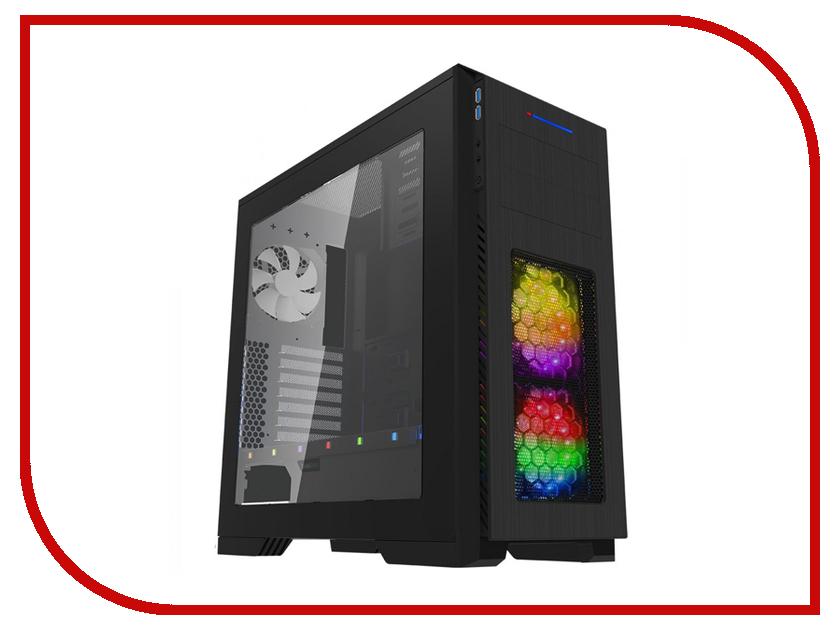 Корпус GameMax M907 Kallis Black корпус gamemax g535 cr black