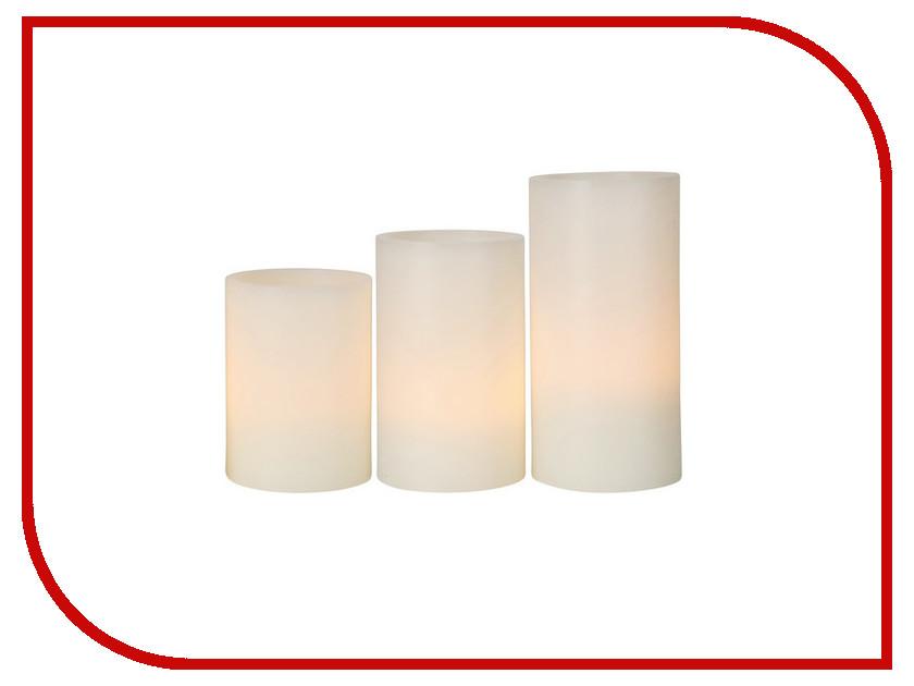 Светодиодная свеча Star Trading LED 3шт White Vox 066-35