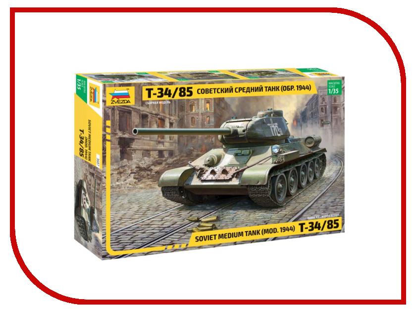 Сборная модель Zvezda Советский средний танк Т-34/85 3687 сборная модель zvezda британский средний танк матильда ii 6171