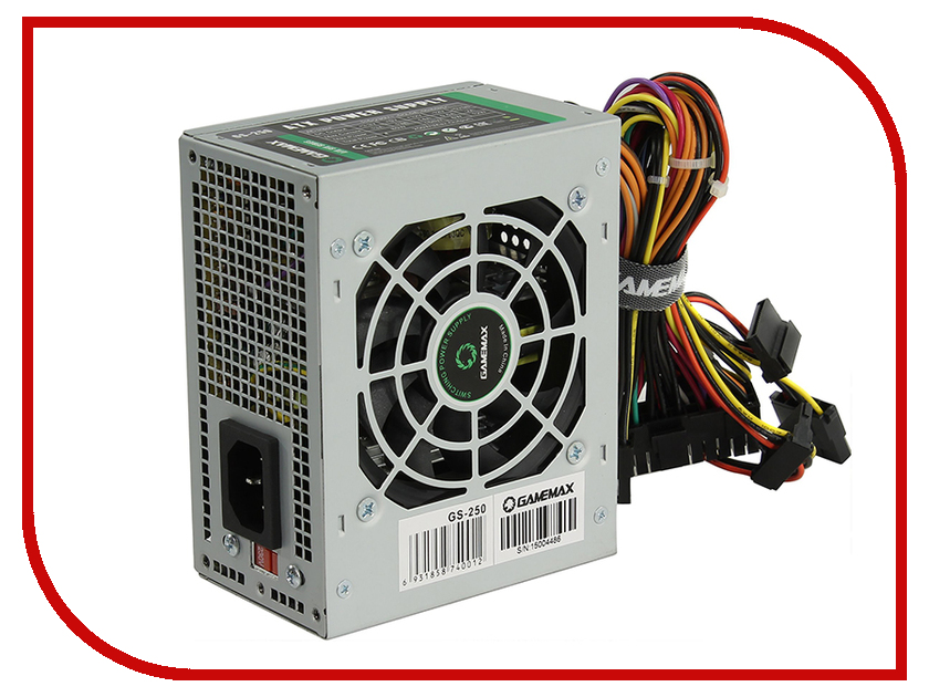 Блок питания GameMax GS-250 250W