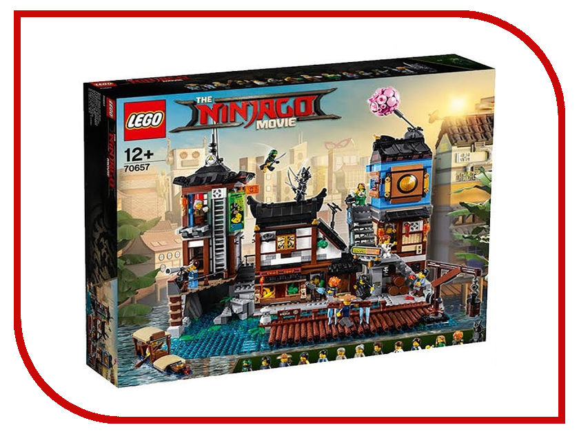 Конструктор Lego The Ninjago Movie Порт Ниндзяго Сити 70657 спортивный костюм other ea7