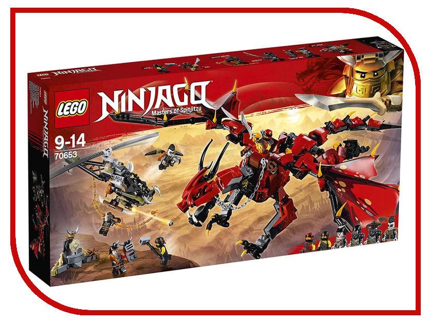 Конструктор Lego Ninjago Первый Страж 70653