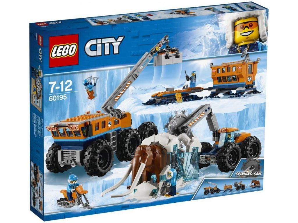 Конструктор Lego City Арктическая Экспедиция Передвижная база 60195