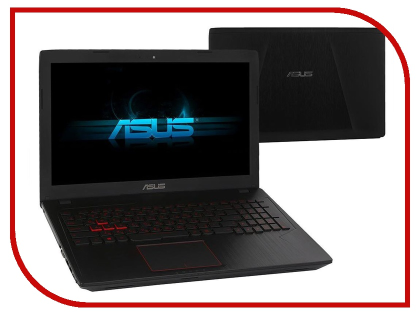 Ноутбук ASUS ROG FX553VE-DM473 90NB0DX4-M07080 (Intel Core i5-7300HQ 2.5 GHz/12288Mb/1000Gb + 128Gb SSD/No ODD/nVidia GeForce GTX 1050Ti 2048Mb/Wi-Fi/Cam/15.6/1920x1080/DOS) proel ws03