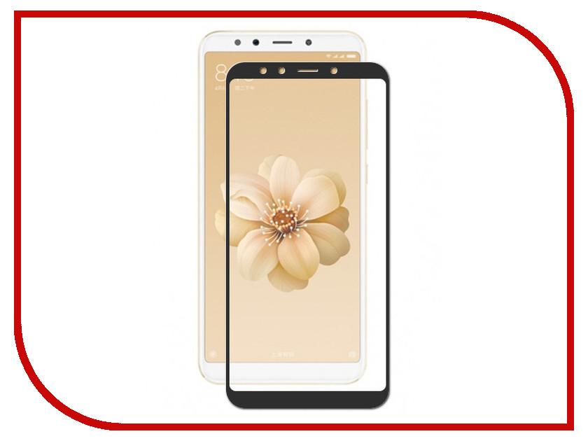 Аксессуар Закаленное стекло для Xiaomi Mi 6X DF Full Screen xiColor-28 Black