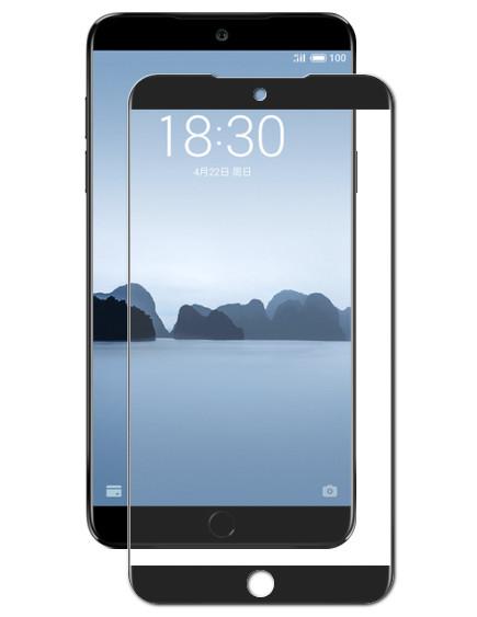 Аксессуар Закаленное стекло DF для Meizu 15 Full Screen mzColor-20 Black