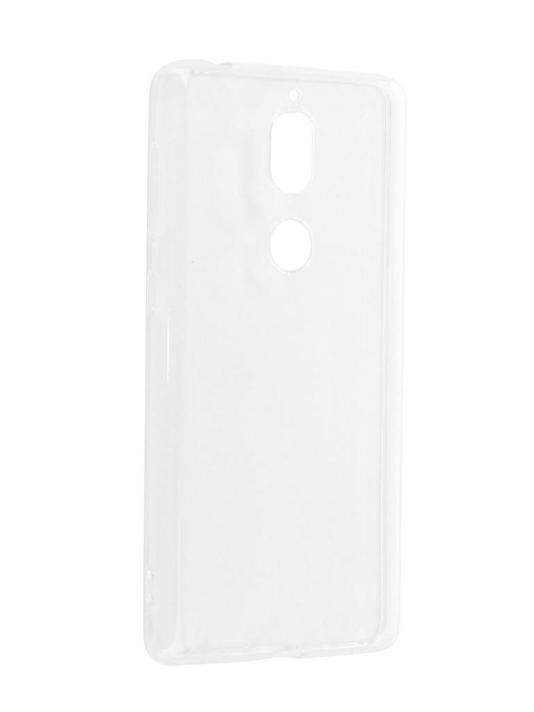 Чехол DF для Nokia 7 Silicone Super Slim nkCase-06