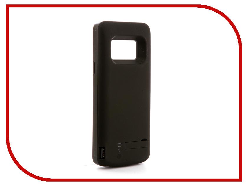 Аксессуар Чехол-аккумулятор для Samsung Galaxy S9 DF sBattery-25 5000mAh Black аксессуар чехол аккумулятор для samsung galaxy a5 2017 df sbattery 24 5000mah black
