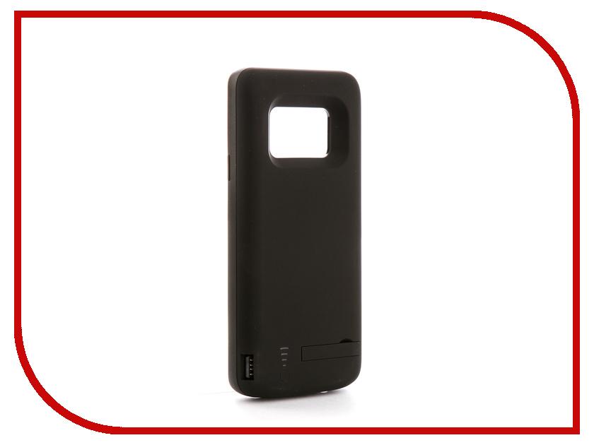 Аксессуар Чехол-аккумулятор для Samsung Galaxy S9 Plus DF sBattery-26 6000mAh Black накладные ресницы влюбляй в себя kiss