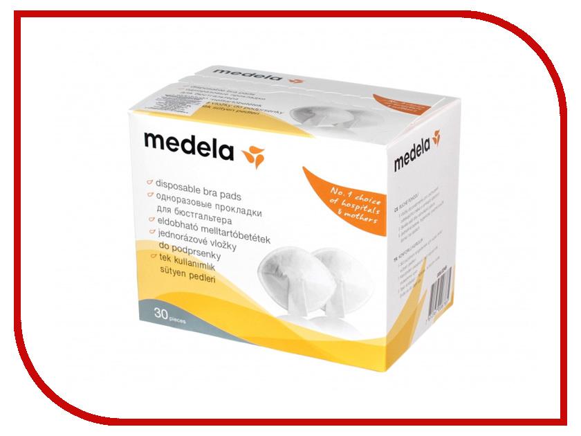 Прокладки одноразовые грудные Medela 30шт 008.0320 уход за грудью medela прокладки для груди medela 30 шт