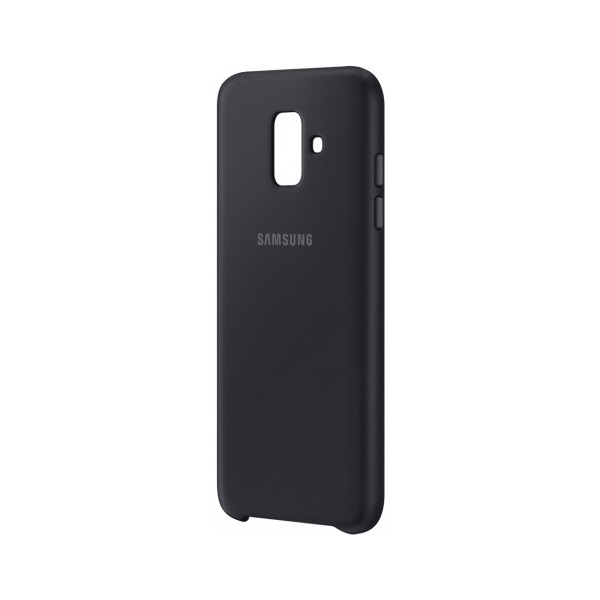Аксессуар Чехол Samsung Galaxy A6 2018 Dual Layer Cover Black EF-PA600CBEGRU все цены