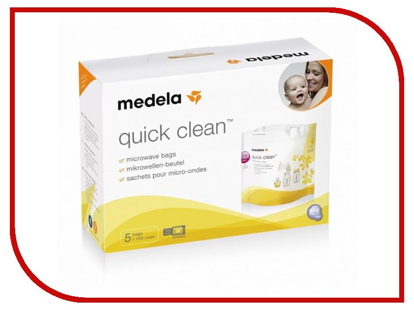 цена на Пакеты для стерилизации в микроволновой печи Medela 5шт 008.0065