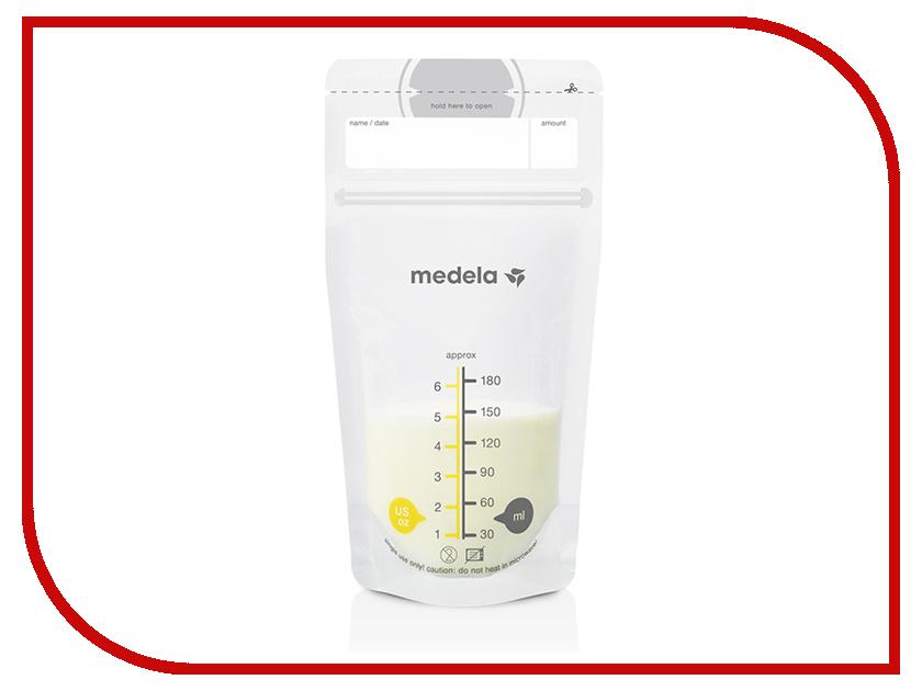 Пакеты одноразовые для хранения грудного молока Medela 50шт 008.0413 контейнеры medela набор одноразовых пакетов medela для хранения грудного молока 50 шт