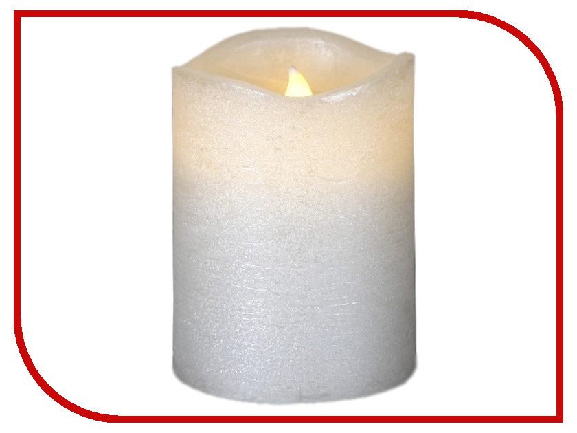 Светодиодная свеча Star Trading LED Press White 063-10
