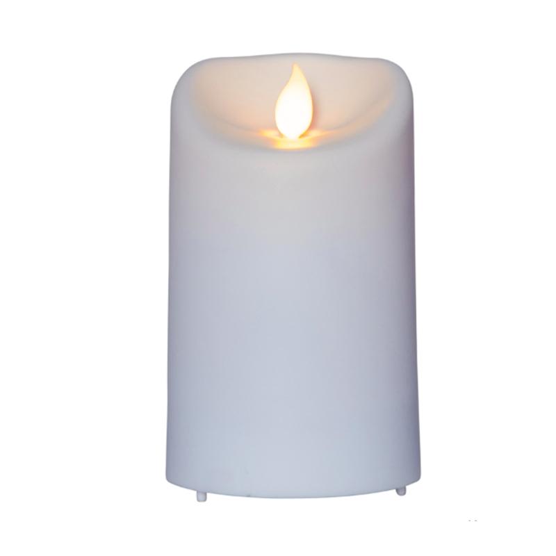 Светодиодная свеча Star Trading LED M-Twinkle White 063-55 светодиодная свеча star trading glow wax beige 068 83